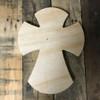 DIY Wall Cross, Paint-able Wooden Cross, MDF Cross Pine (24)