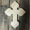 DIY Wall Cross, Paintable Wooden Cross, MDF Cross Pine (38)