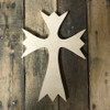 Wood Cross, Unpainted Wooden Wall Craft, VBS Pine (50)