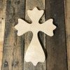 Wood Cross, Unpainted Wooden Wall Craft, VBS Pine (52)