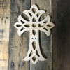 Unfinished Wooden Wall Hanging Cross, Wall Craft Pine (56)