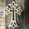 Unfinished Wooden Wall Hanging Cross, Wall Craft Pine (57)