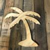 Wood Pine Shape, Present, Unpainted Wooden Cutout DIY