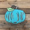 Fancy Pumpkin, Craft Unfinished Wood Shape, Wood Cutout