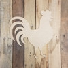Rooster, Paintable Shape, Unfinished Cutout, Craft Wood
