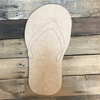 Flip Flop, Unfinished Wooden Craft, Paint by Line