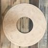 Donut, Unfinished Wooden Craft, Paint by Line
