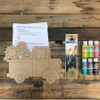 Flower Truck Paint Kit, Video Tutorial and Instructions