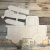 Christmas Hat Blank Sign Truck Cutout, Wooden Shape, Paint by Line