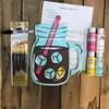 Lemonade Jar Paint Kit, Video Tutorial and Instructions