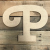 Wooden Letters Unfinished MDF, Cherry Swash, Paint-able DIY Craft