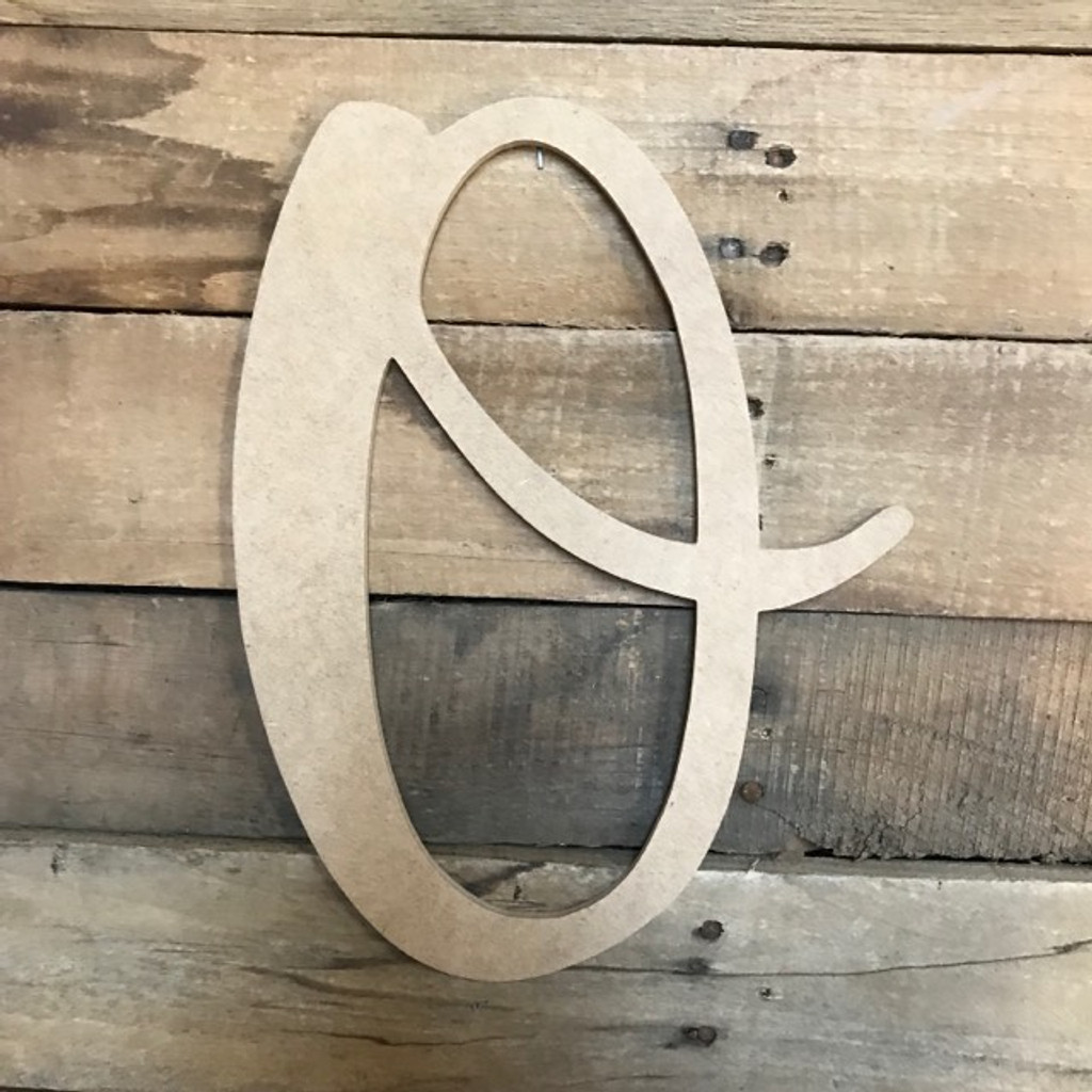 King Basil, Wooden Letters Unfinished MDF, Paintable DIY Craft