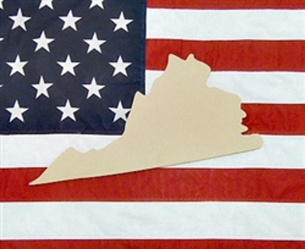 States & Countries, Unfinished Cutout Wooden, Paintable Wooden MDF DIY Craft