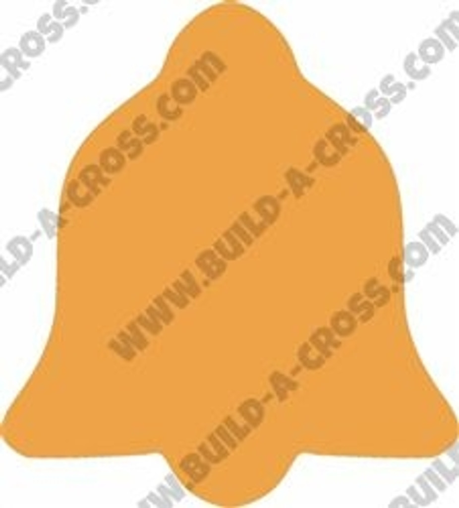 Christmas Bell Unfinished Cutout, Wooden Shape, Paintable  DIY Craft