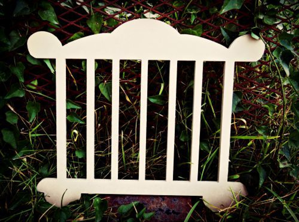 Circus Cage Unfinished Cutout, Wooden Shape,  Paintable MDF DIY Craft