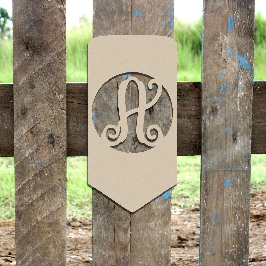 Pencil Frame Letter Monogram Wooden Unfinished DIY Craft