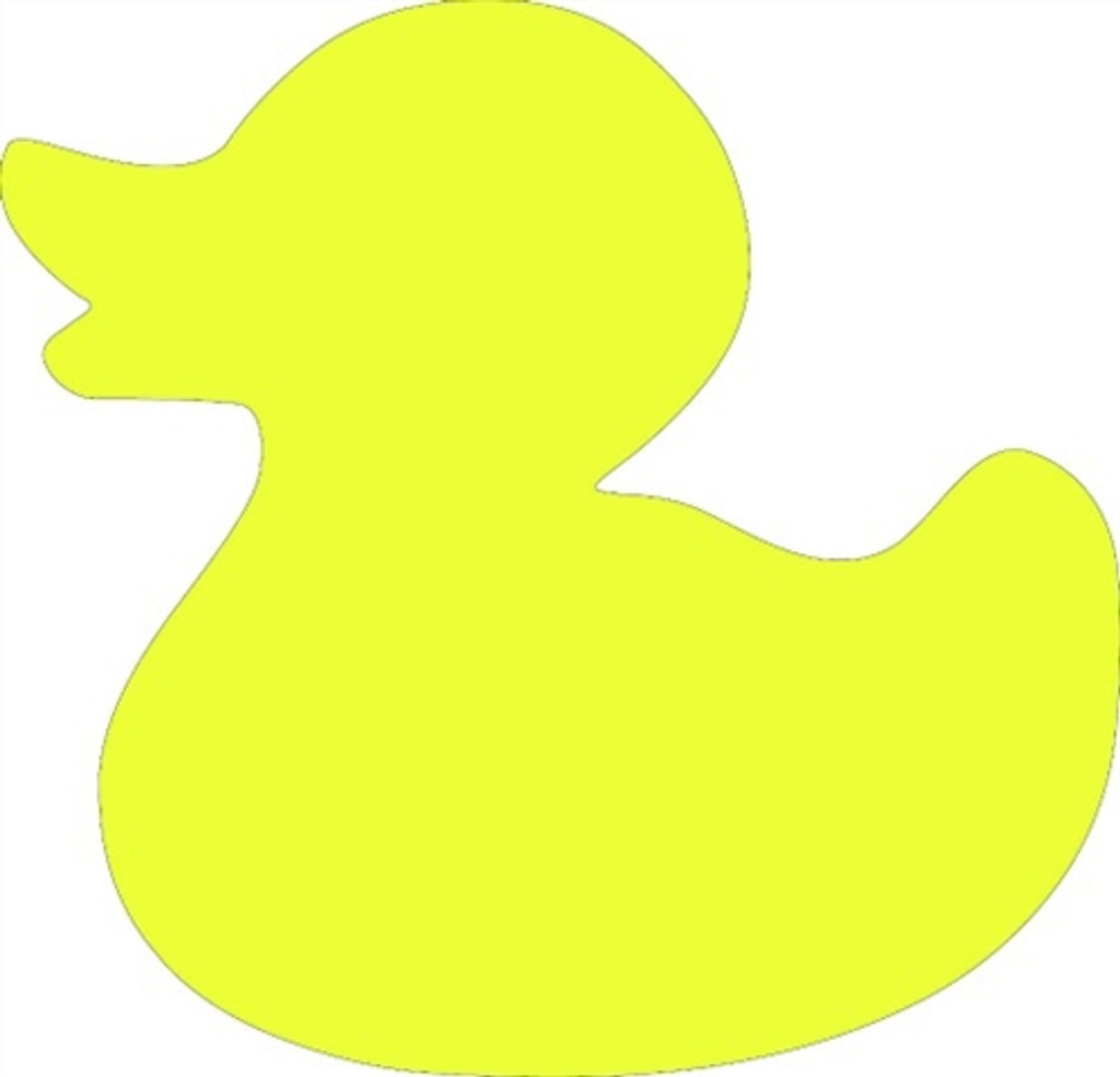 Wooden Duck Shapes x 30