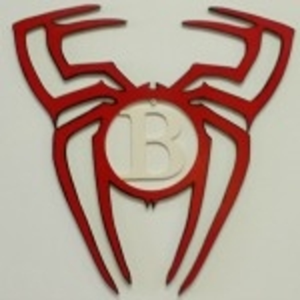 Spider Frame Letter Insert Wooden Monogram Unfinished DIY Craft