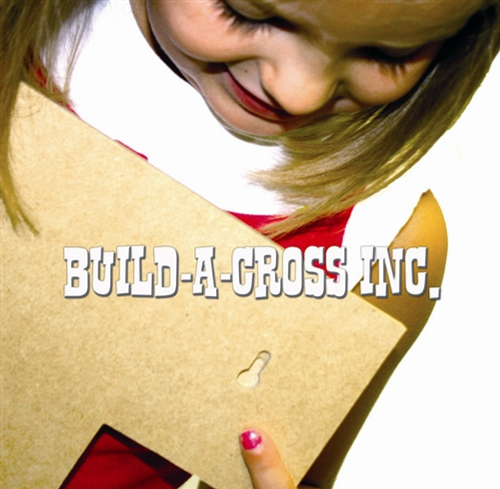 Unfinished Wooden Stacked Kit 9 Layered Crosses 9.5'' Sets Paintable Craft