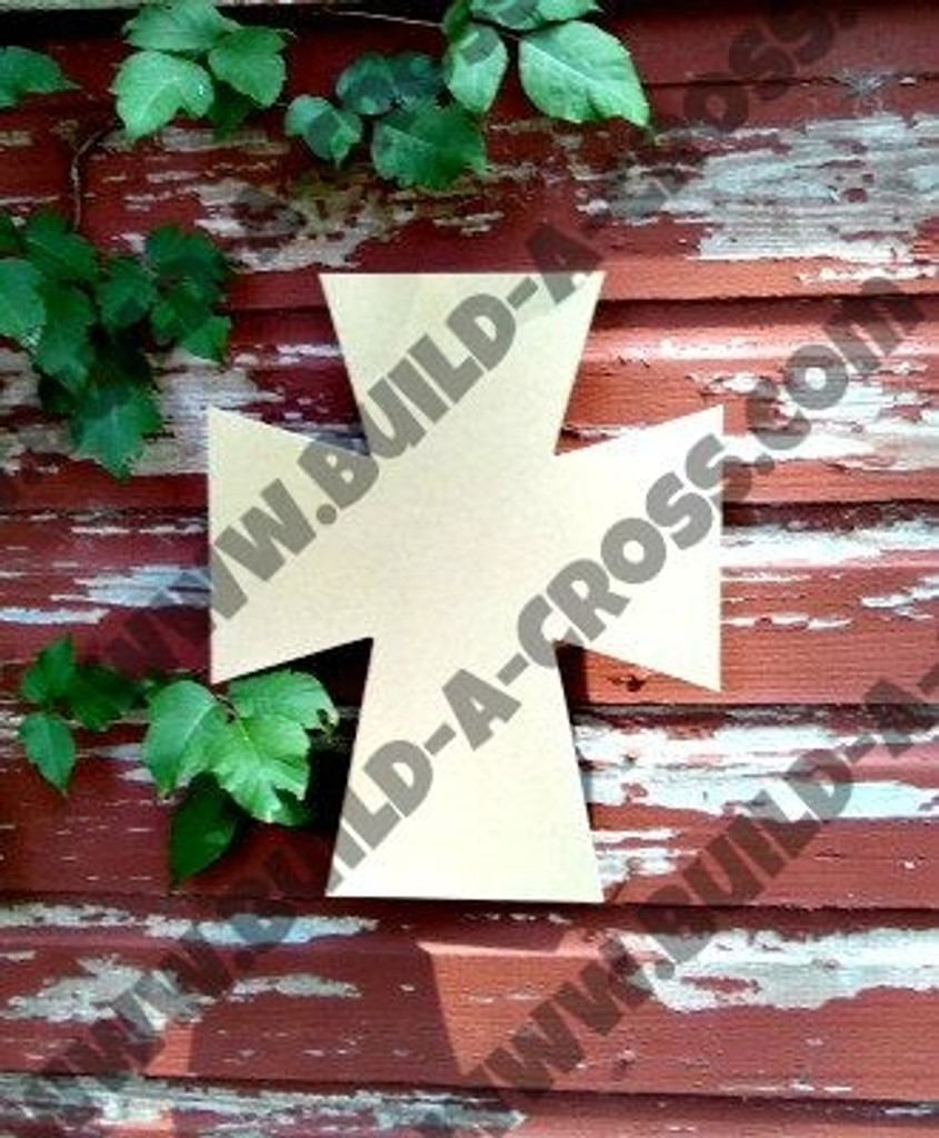 UNFINISHED WOODEN CROSS PAINTABLE WALL HANGING STACKABLE CROSS (45)
