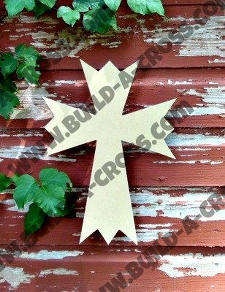 UNFINISHED WOODEN CROSS PAINTABLE WALL HANGING STACKABLE CROSS (48)