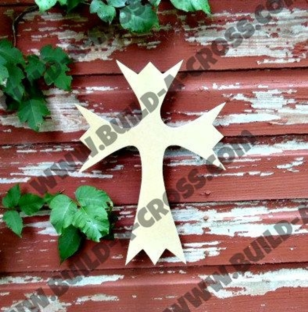 UNFINISHED WOODEN CROSS PAINTABLE WALL HANGING STACKABLE CROSS(50)