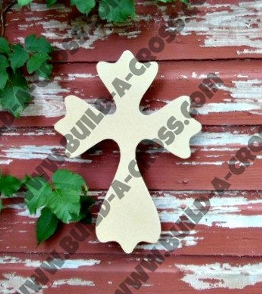 UNFINISHED WOODEN CROSS PAINTABLE WALL HANGING STACKABLE CROSS (52)