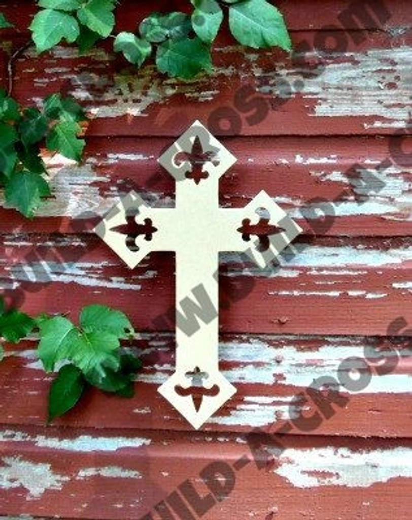 Unfinished Wooden Cross Paintable Wall Hanging Stackable Cross (59)