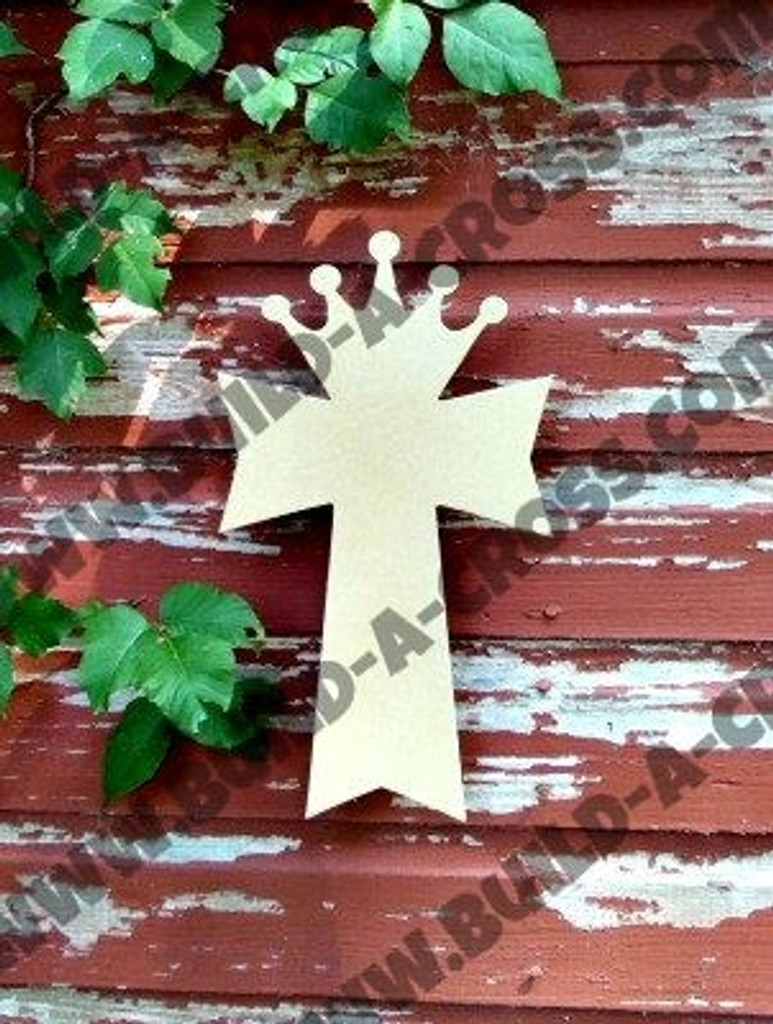 Unfinished Wooden Cross Paintable Wall Hanging Stackable Cross 7