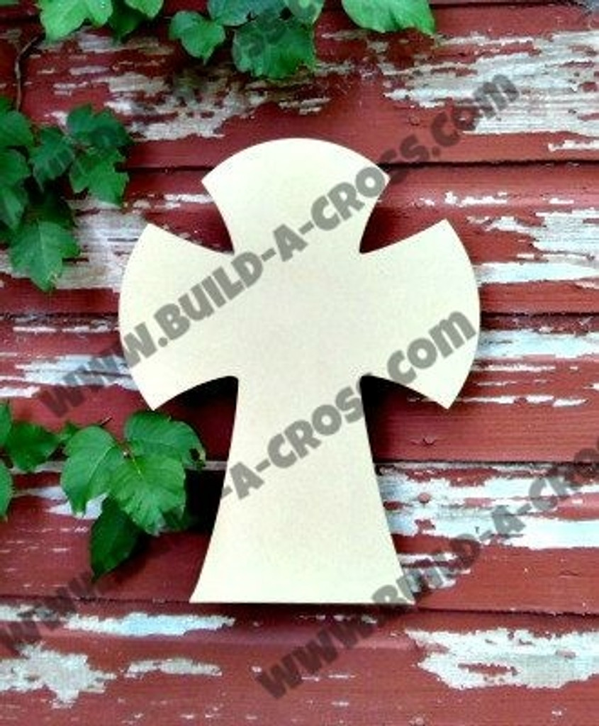 Unfinished Wooden Cross Paintable Wall Hanging Stackable Crosses
