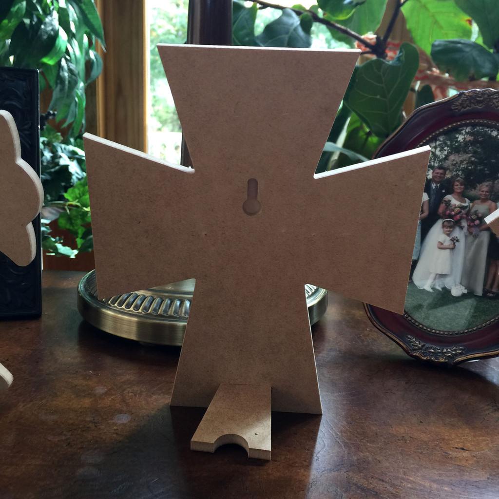 Unfinished Free Standing Cross Kit, #45