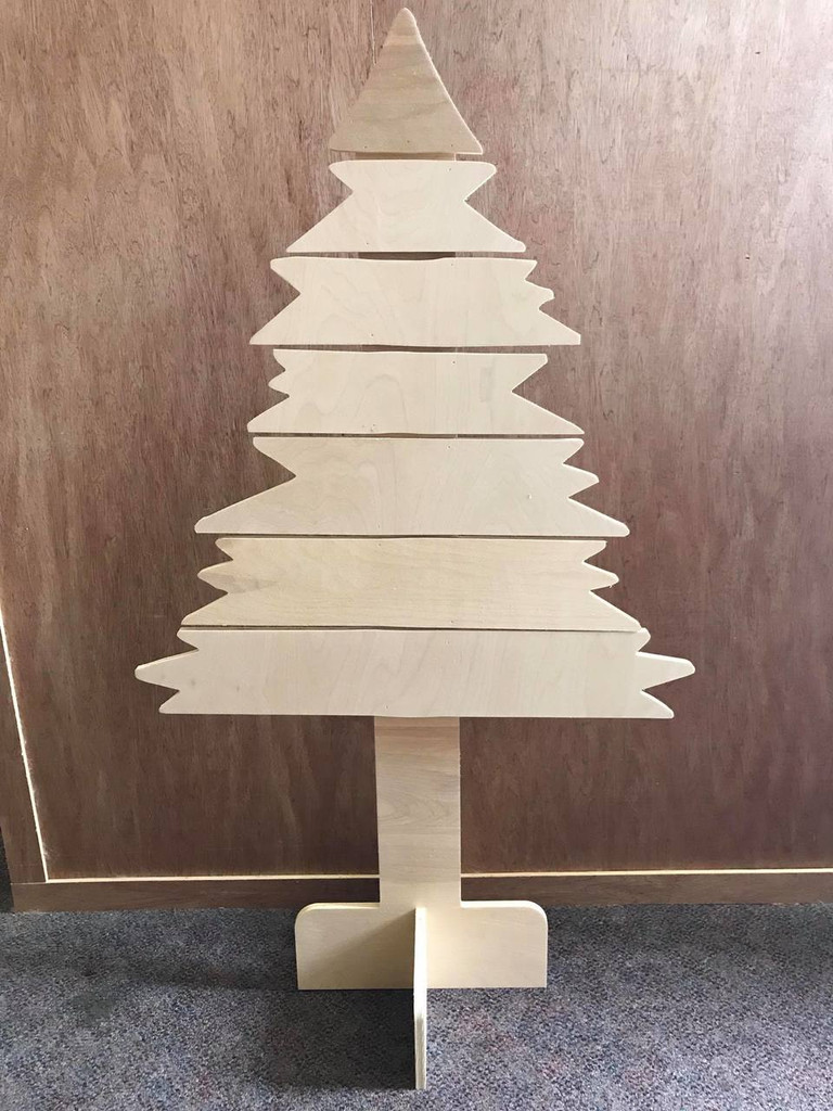 Crooked Tree, Unfinished Christmas Tree, White Pine, Photo Prop