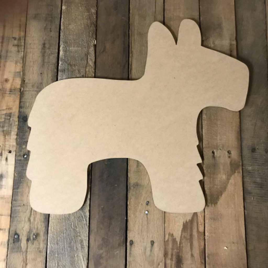 Pinata, Craft Unfinished Wood Shape, Wood Cutout
