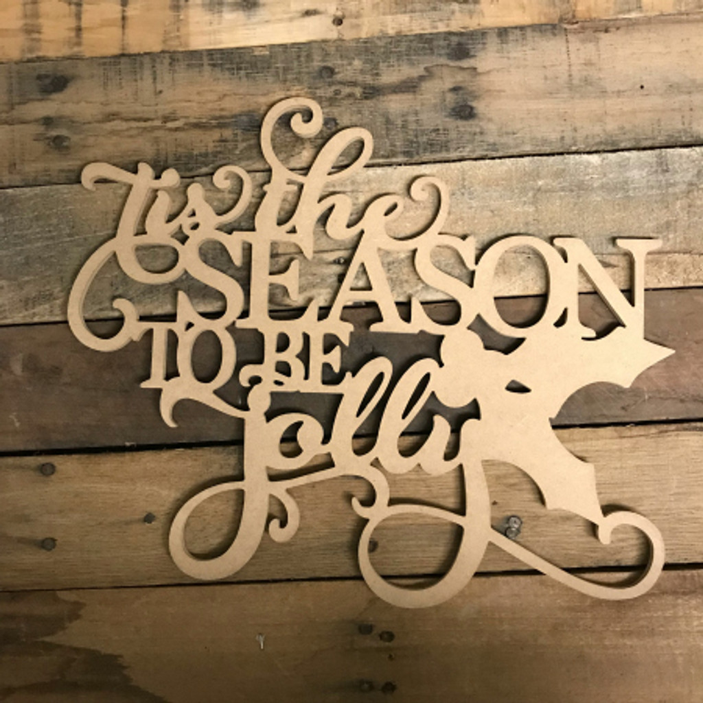 Season to Be Jolly, Alphabet Paintable DIY