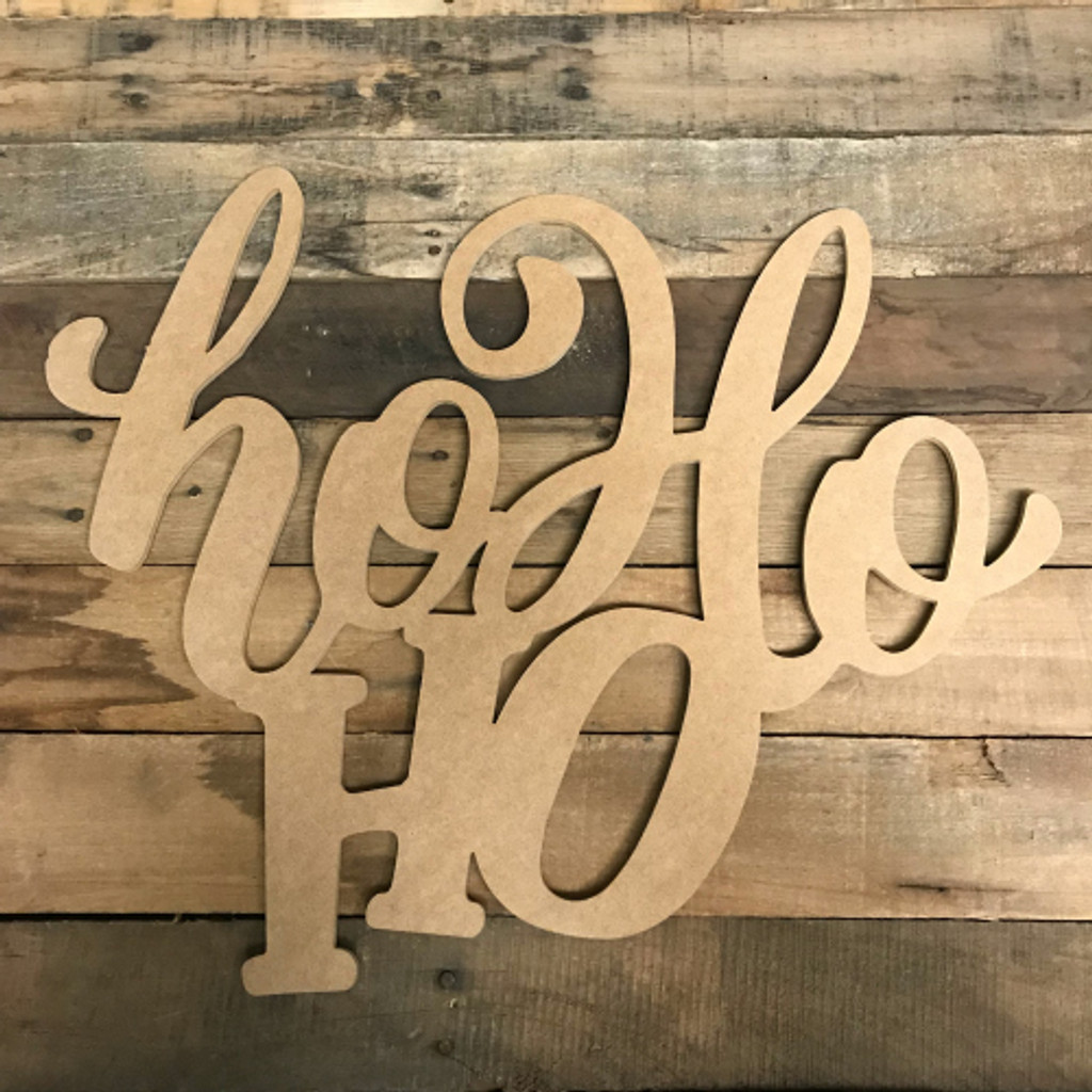 Ho Ho Ho, Alphabet Paintable DIY