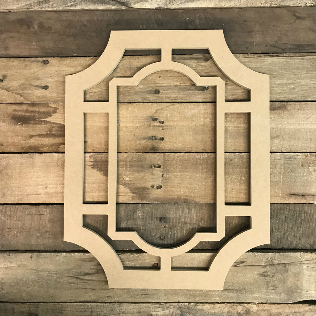Decor Cathedral Arch Window Decor,  Wooden Cutout Craft