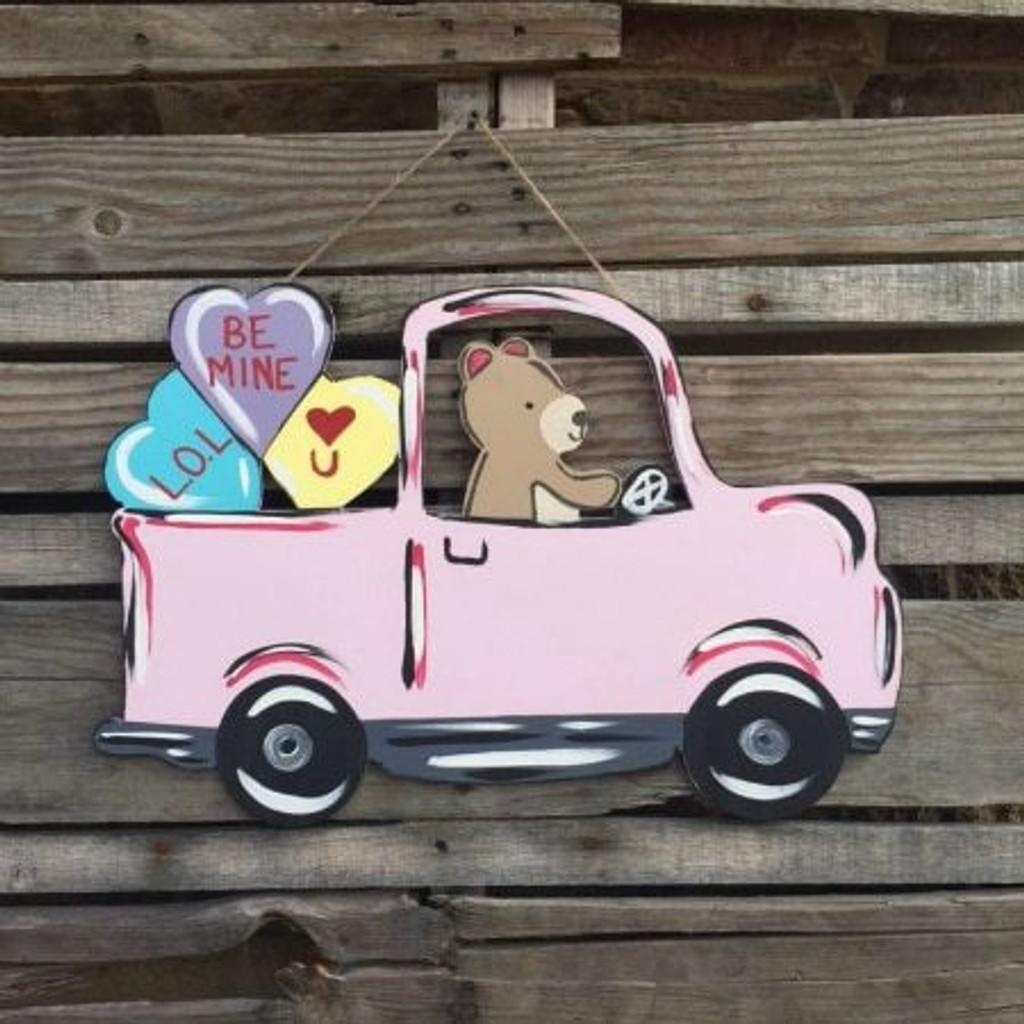 Tutorial Valentine Bear Truck