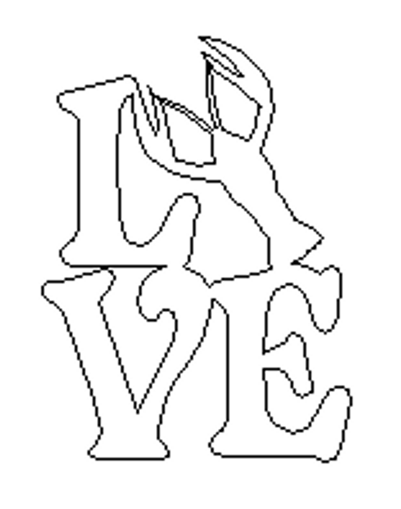 Love with Crawfish Sign Wall Art Wooden DIY Craft MDF