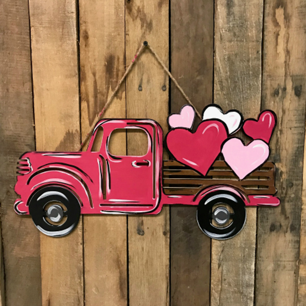 Tutorial Valentine Truck with Hearts