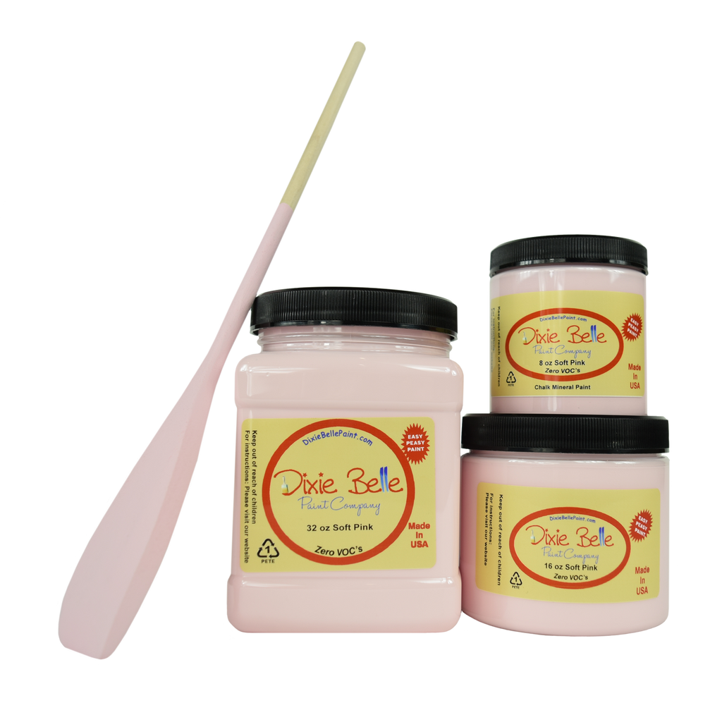 SOFT PINK CHALK MINERAL PAINT