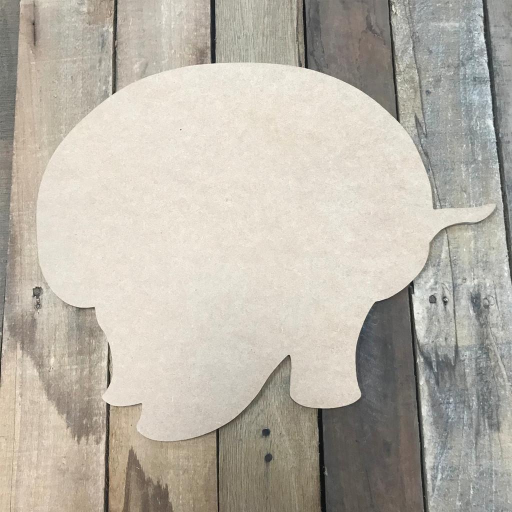 Armadillo, Unfinished Cutout, Craft Wood Shape