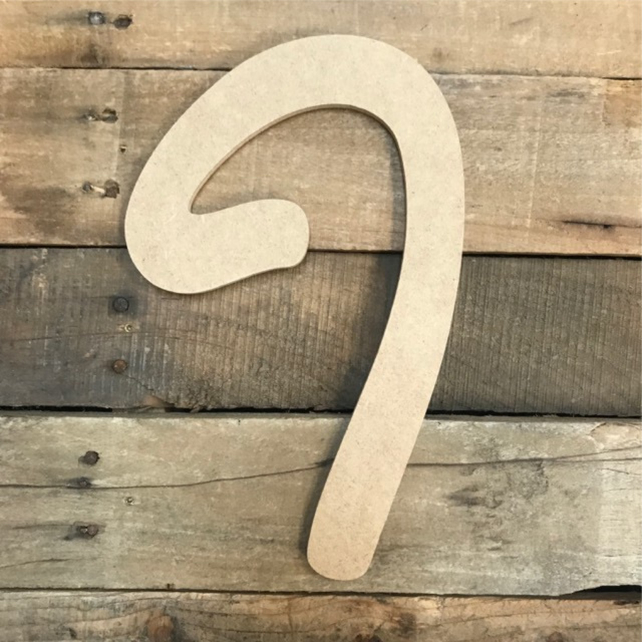 Free Standing LETTERS MDF in HOBO font wooden craft shape 150mm /& 200mm  high