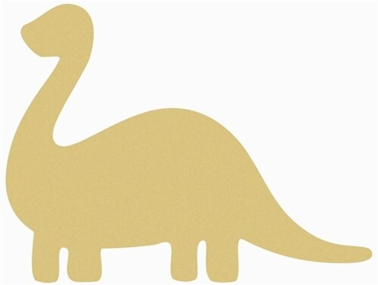 Laser cut mdf craft shapes blank 15cm Personalised Dinosaur names