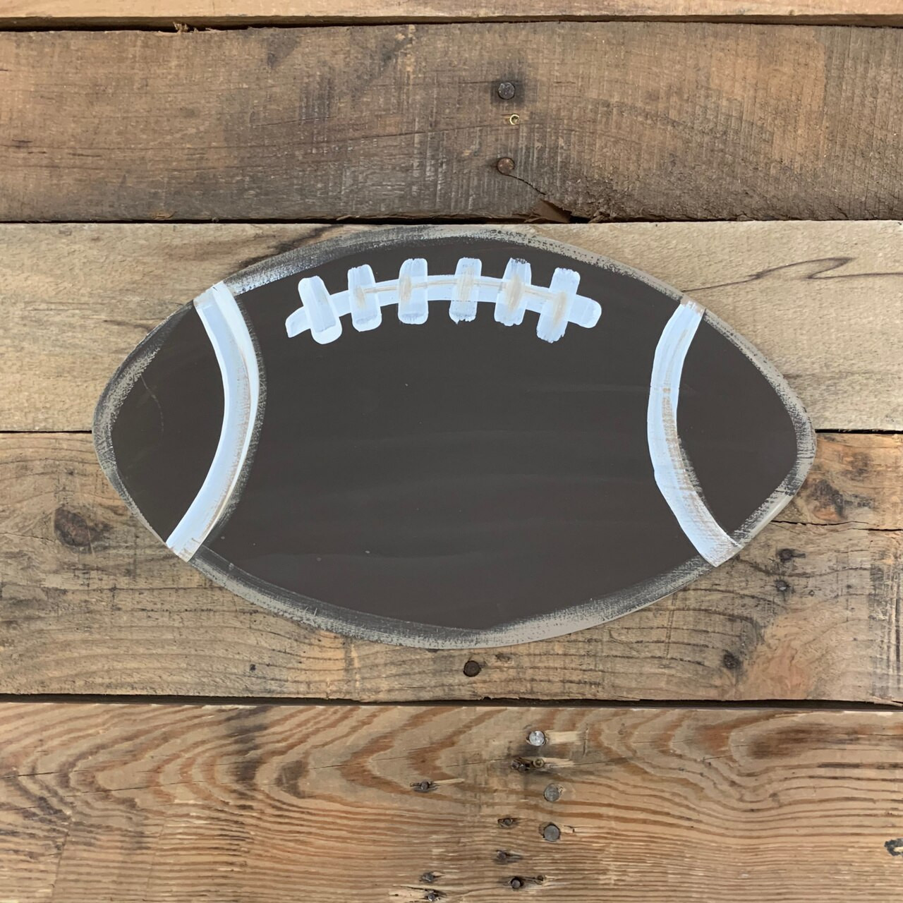 Football Goal Post Unfinished Paintable Shape
