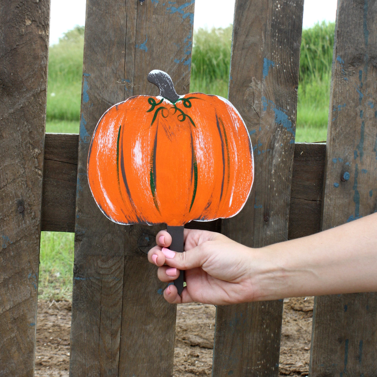 Unfinished Outdoor Diy Wooden Yard Art Pattern Pumpkin Sign Build A Cross Com