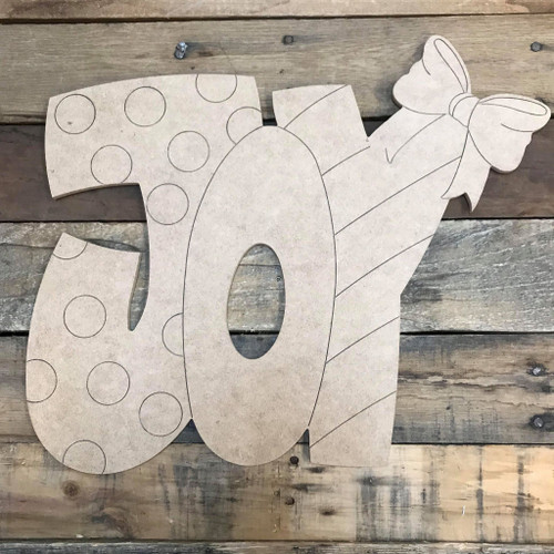 JOY Cutout, Shape, Paint by Line