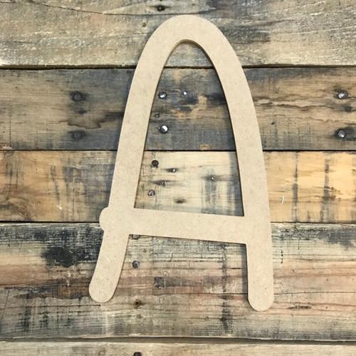 Big Letter are large wooden alphabet letters.