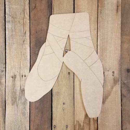 Ballet Feet Dance Craft Shape Paint by Line