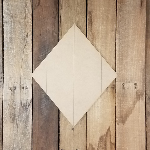 Diamond Card Suit Symbol Wall Decor, Unfinished Paint by Line