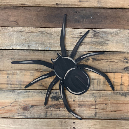 Long Leg Spider, Unfinished Wooden Paint by Line